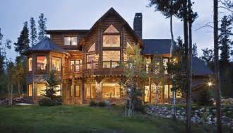 Log Home Styles Rustic Homes Log House Plans Mountain Lodge Builders