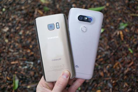 Samsung Galaxy S10 G5 by Samsung Galaxy S7 Vs Lg G5 Droid