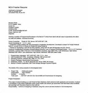 Resume Format Pdf Word by Resume Template For Fresher 10 Free Word Excel Pdf