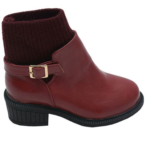 black toddler boots black grommet eyelet wedge heel