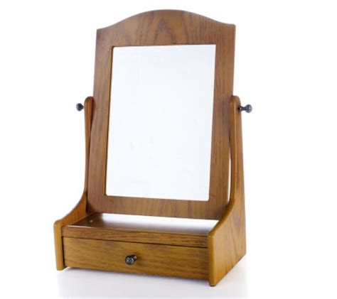 Cheval Mirror With Drawer by Pacconi Table Top Cheval Mirror With Drawer Qvc Uk