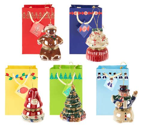mr christmas set of 5 customer choice porcelain music