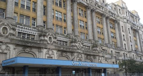 Cook County Records Cook County Hospital Rehab Planned Landmarks Illinois