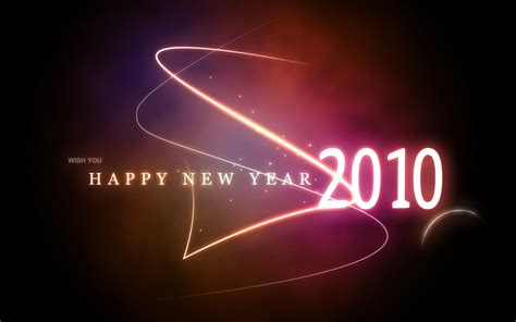 wishing u happy new year wish you happy new year 2010 wallpapers hd wallpapers id 6057