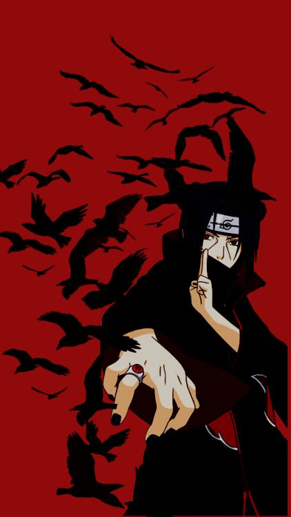 wallpaper iphone 5 itachi itachi iphone wallpaper hd galleryimage co