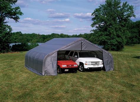 shelterlogic peak style portable carports and shelters