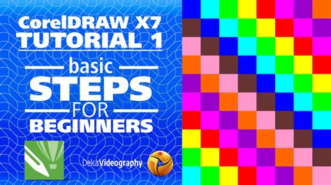coreldraw tutorial for beginners delcavideography official site septiembre 2015