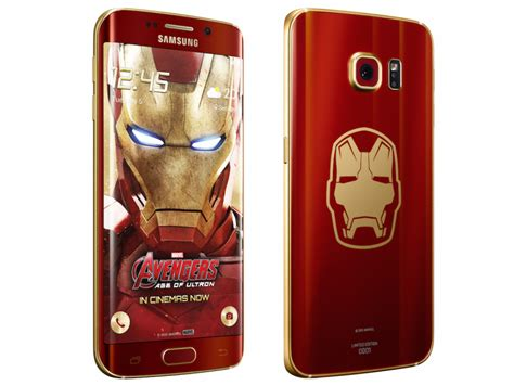 Samsung S6 Ironman Limited Edition samsung unbox the iron edition of the galaxy s6