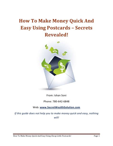 How To Make Lots Of Money Fast Online - how to make quick easy money in lucrative ways to make money from home