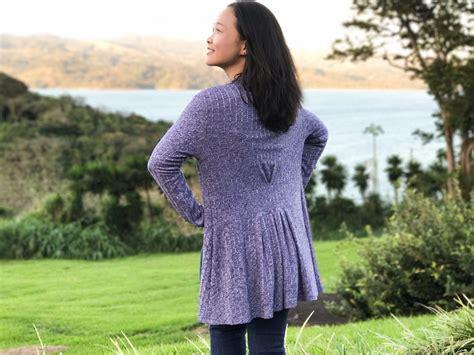 cardigan pattern sewing free paro cardigan digital sewing pattern pdf itch to stitch