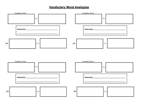 vocabulary worksheet define write draw template englishlinx com