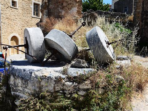 mill historically olives olive mill panoramio photo of olive mill stones maroulas 2011
