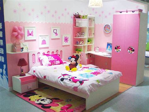 minnie mouse theme bedroom cute kids quality furniture girl theme bedroom with minnie
