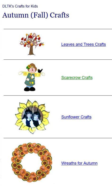 dklt crafts activities for fall autumn at 4 classrooms