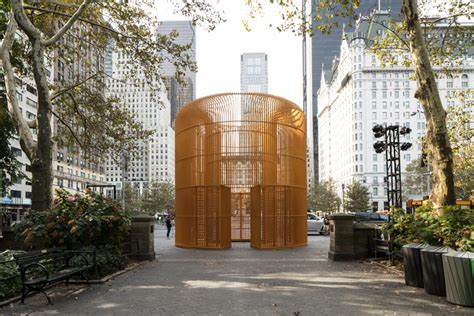 Temporary Walls Nyc by Ai Weiwei S Fences Take On Borders And Belonging In Nyc