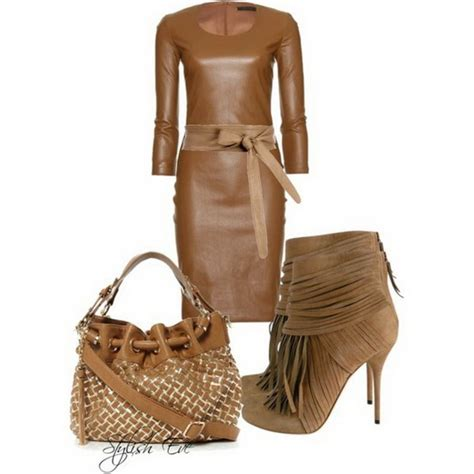 buy stylish eve clothes brown winter 2013 outfits for women by stylish eve