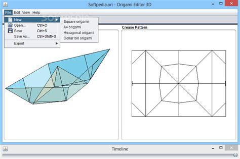 Origami A4 - origami editor 3d