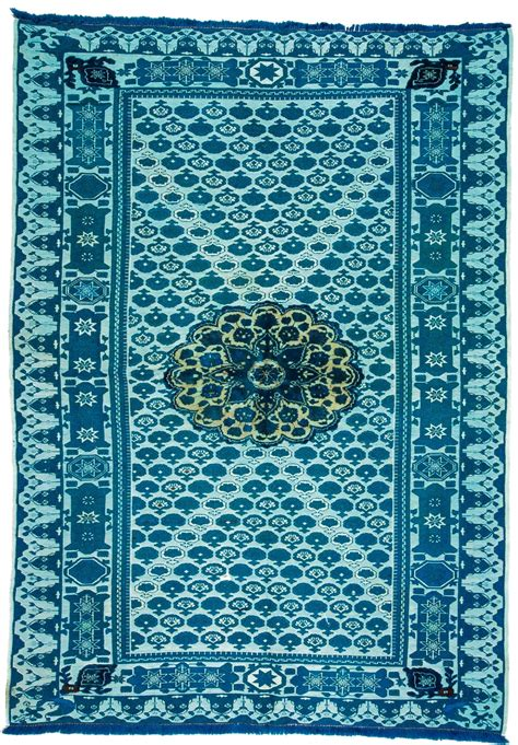 Over Dyed Soumak Rug 0143 Dyed Rugs