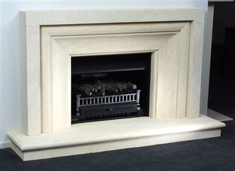 large real open gas log with flue set