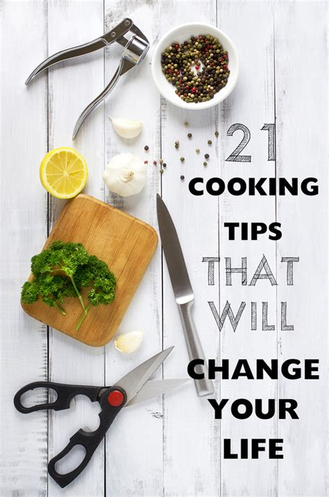 cooking with chagne 21 cooking tips that will change your life