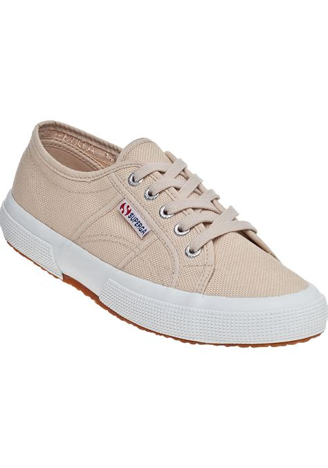 superga shoes superga 2750 sneaker ivory fabric in white lyst