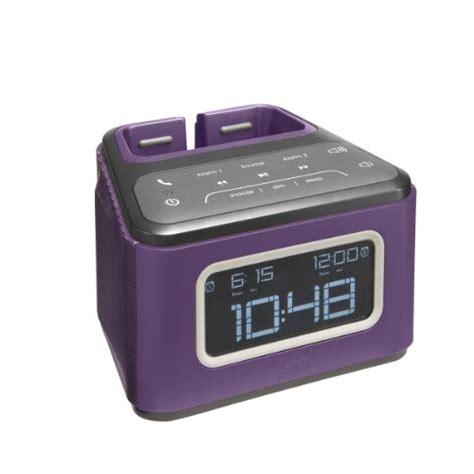 Jam Alarm 14 hmdx jam zzz wireless alarm clock hx b510pu purple 0 best speakers for iphone