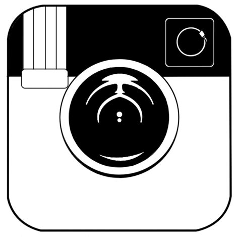logo black and white 12 black instagram logo vector eps images black