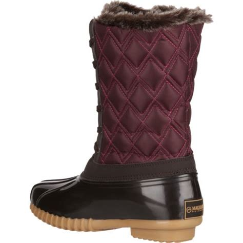 academy duck boots magellan outdoors s mid quilted duck boots academy