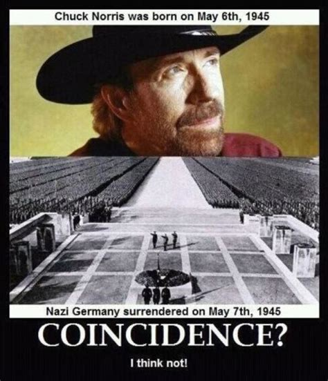 Nazi Memes - rumor chuck norris and the nazi surrender