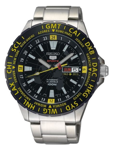 Bor Gmt seiko 5 sport gmt 50th anniversary with airport arrival