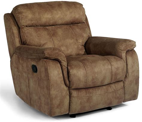 flex steel recliners flexsteel latitudes casino glider recliner with padded