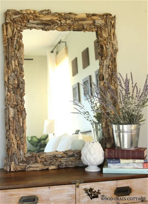 mirror frame decorating ideas beautiful diy driftwood mirror do it yourself fun ideas