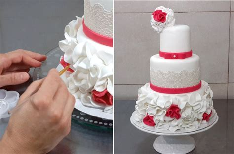 Wedding Cake Decorating Step By Step home design fascinating simple decorated cakes