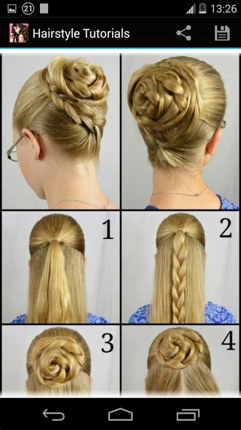 step by step hairstyles easy for kids hairstyles step by step android apps on google play
