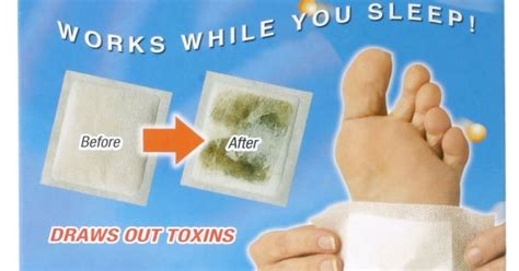 Bodytox Detox Foot Patches by Detoxify While You Sleep Detox Foot Pads Are Foot Patches