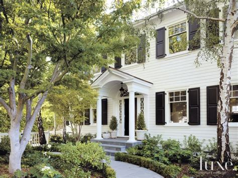 white dutch colonial revival entry luxe interiors white dutch colonial revival exterior luxe interiors