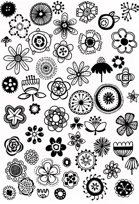flower doodle fabric 48 best fabric and floral designs images on