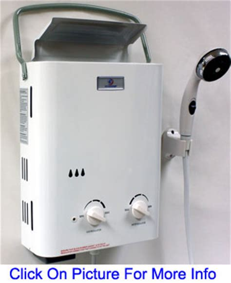 On Demand Shower Water Heater by Eccotemp Tankless Water Heaters
