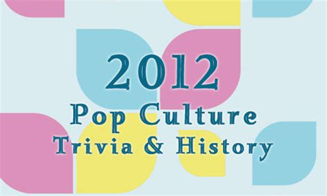 quiz 2014 pop culture part 1 quizzes fun quizzes 2012 fun facts history and trivia pop culture madness