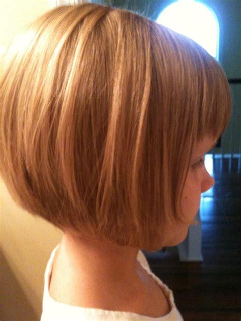 reverse bob hairstyle photos for kids kids reverse bob hair love pinterest