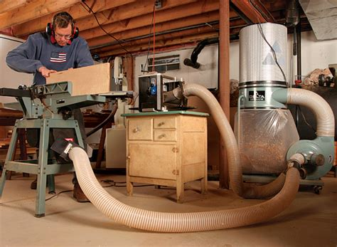 dust collector works finewoodworking