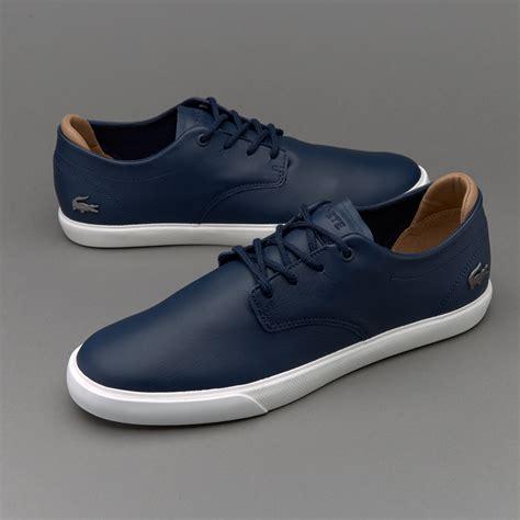 lacoste mens sneakers mens shoes lacoste espere 117 navy shoes 141950