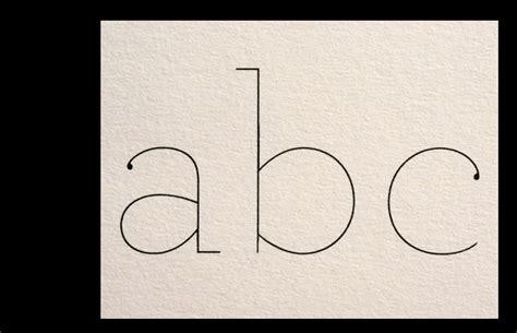 Letter Archer archer hairline typo letter fonts typo