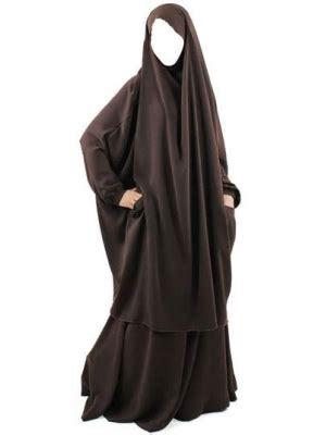 Jilbab Khimar 2 Lapis khimar overhead abaya islamic jilbab khaleejiabaya