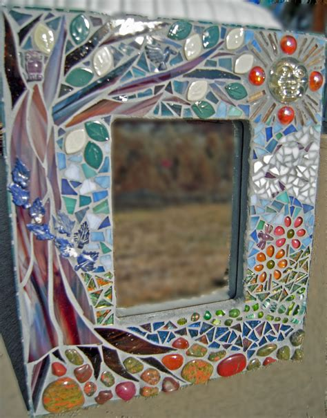 bathroom mirror mosaic finding the perfect tree glass mosaic mirror diane