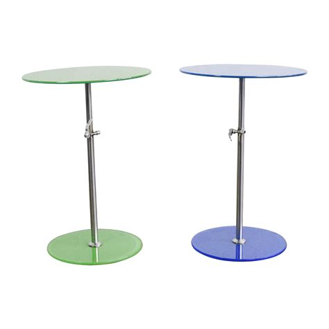 modern glass end tables shop craps coffee table