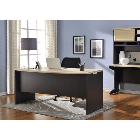 executive office desk executive office desk computer business furniture large work surface home modern ebay