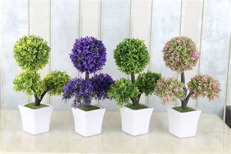 plastik bunga buatan bunga buatan miniascape dekorasi