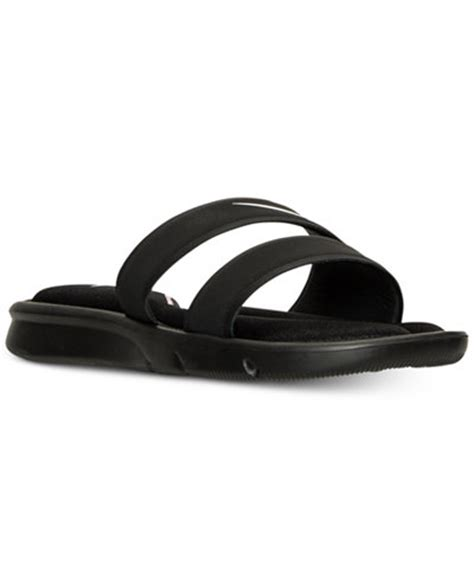 nike s ultra comfort slide sandals from finish line finish line athletic sneakers