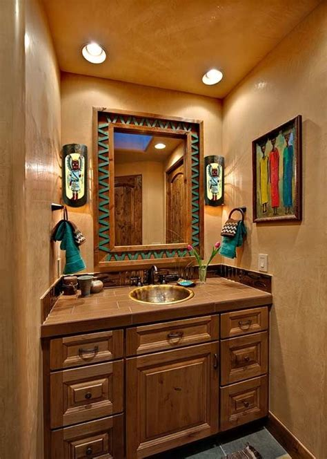 southwestern bathroom design ideas living simply